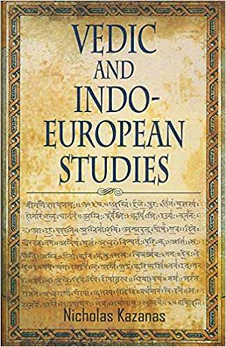cover page - Vedic and Indo-european studies