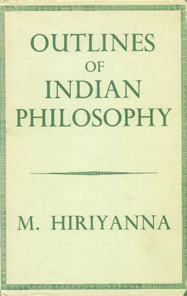 book over - outlines of Indian philosophy