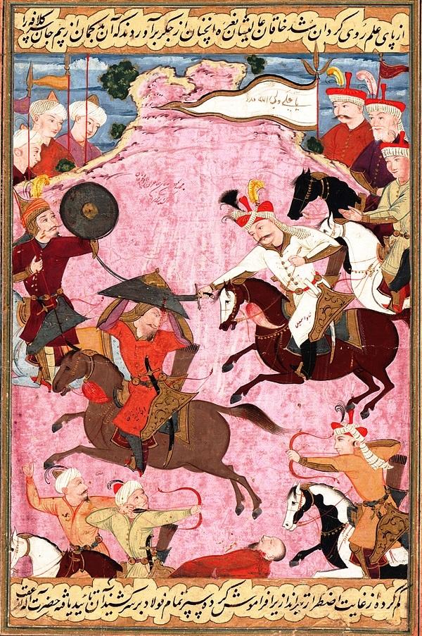 battle between Islamic rulers